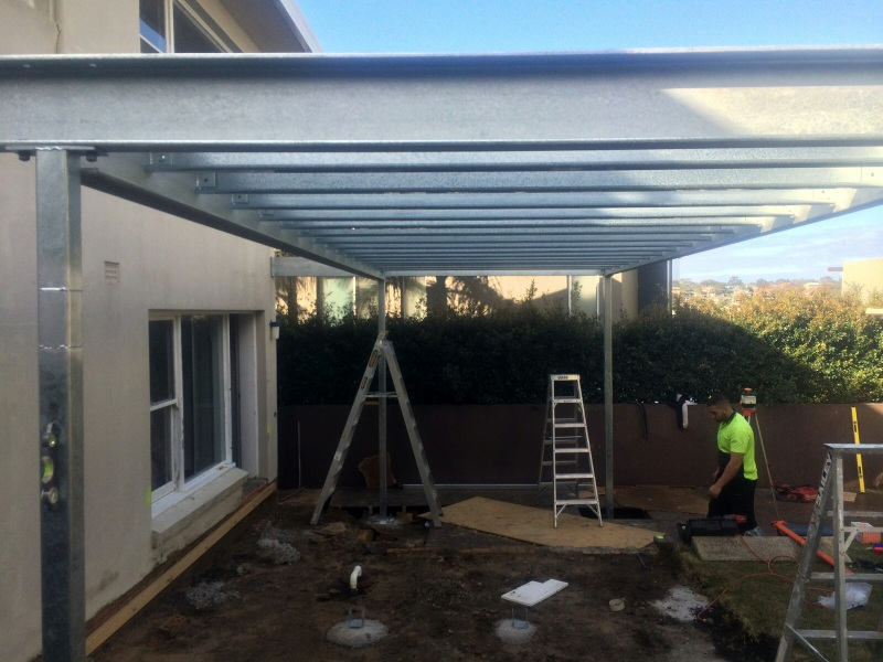 01 2014 Residential Awning Structure Carrs Park Product